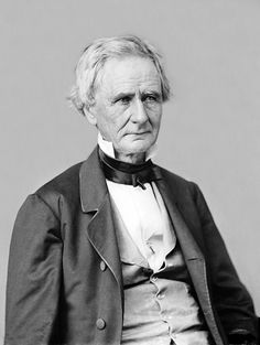 *SIMON CAMERON ~ was an American politician who served as United States Secretary of War for Abraham Lincoln at the start of the American Civil War. Cameron made his fortune in railways, canals and banking, and founded the Bank of Middletown.