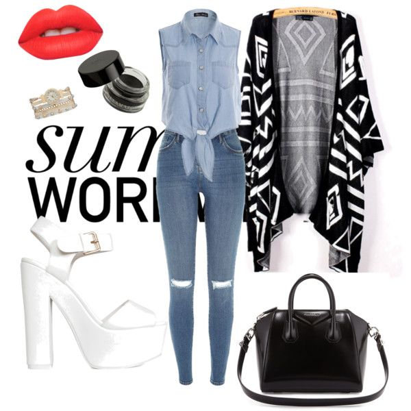 Untitled #6 by georgiahondromara on Polyvore featuring polyvore beauty Lime Crime maurices Givenchy River Island Nly Shoes
