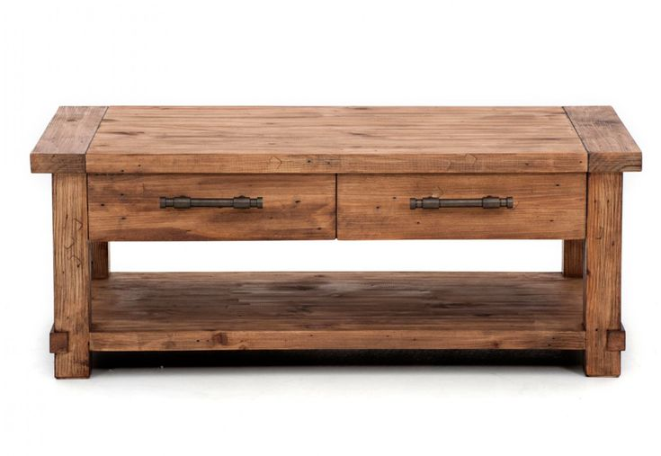 Industrial Coffee Table | Super A-Mart
