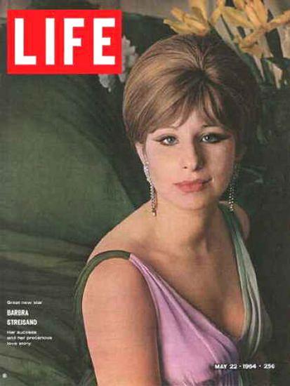 Life Magazine Cover Copyright 1964 Barbra Streisand - www.MadMenArt.com | Our…