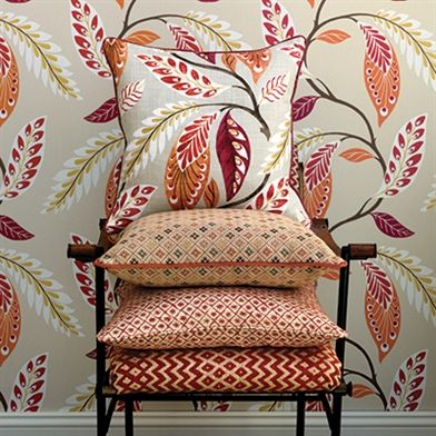 Leading Fabrics And Wallpaper Designer Nina Campbell Available Exclusively From Osborne And Little