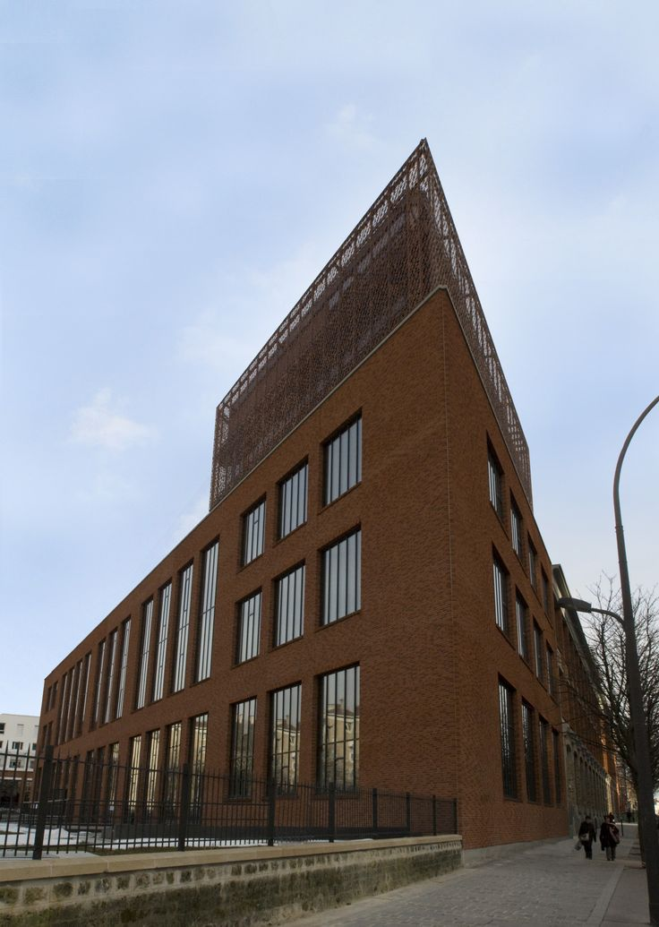 ILOT PANHARD - Paris 13ème (75) - MO: GDG MASSENA - Architecte: Agence DUTHILLEUL / AREP - Photographe: NR - NF HQE Bâtiments Tertiaires - Niveau HQE Très Bon