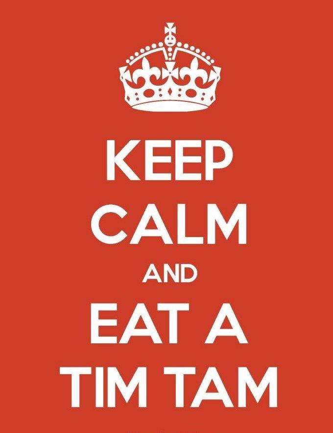 Eat a Tim Tam
