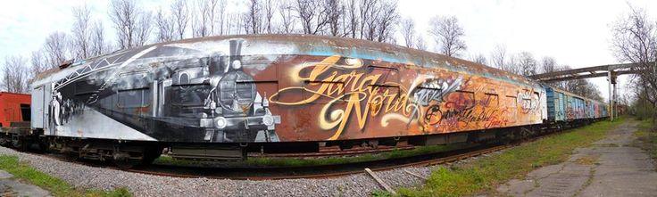 Gara de Nord, train
