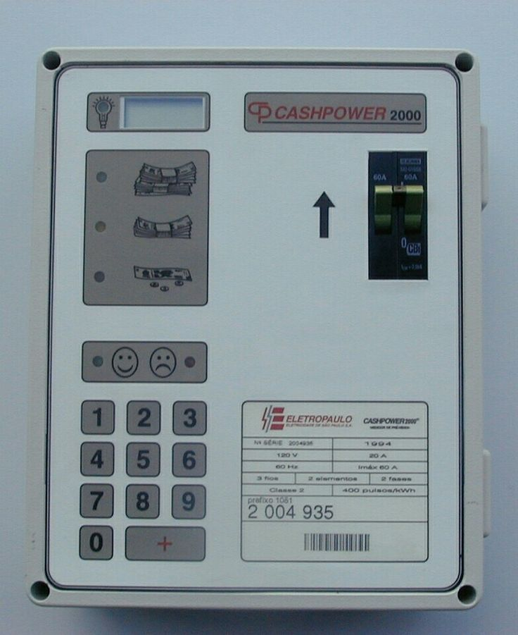 If you recognise and remember this prepaid meter you are as old as I am.