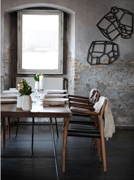Dine | NOMA Restaurant Paris | Fine Dining at it's best with our Moller #78 Chair.