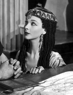 Vivien Leigh in Caesar and Cleopatra, 1945.