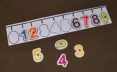 Simple number line puzzle