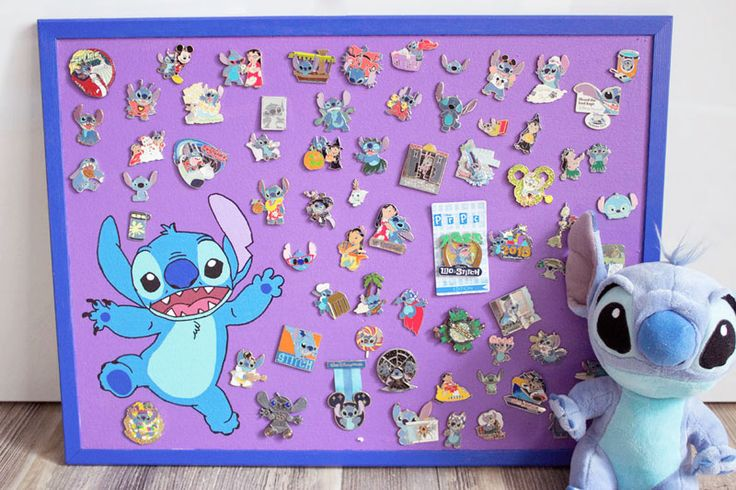 Disney pin collection display board | Chica and Jo
