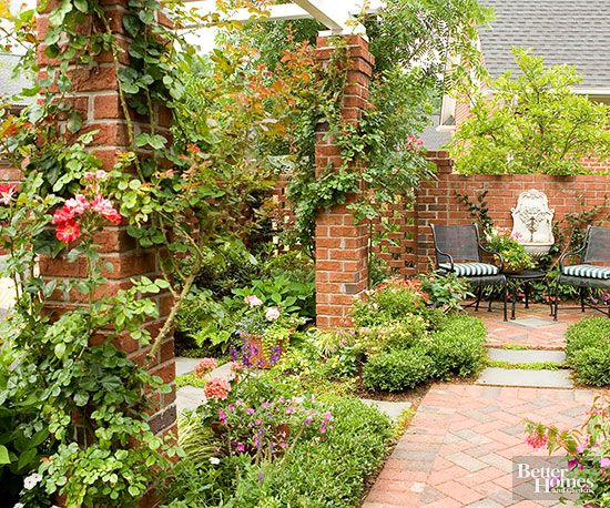 Everyone needs a solitary spot for sharing quiet conversation with a friend or kicking back with a good book: http://www.bhg.com/home-improvement/patio/designs/patio-ideas/?socsrc=bhgpin033015keepitcozy&page=2