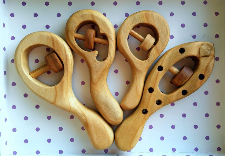 polandhandmade.pl #polandhandmade #grzechotka #woodenrattle