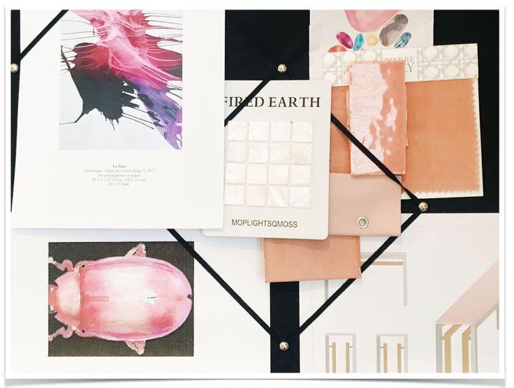 Brainstorming bespoke designs in the studio..