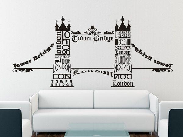 Wall Decor London Tower Bridge