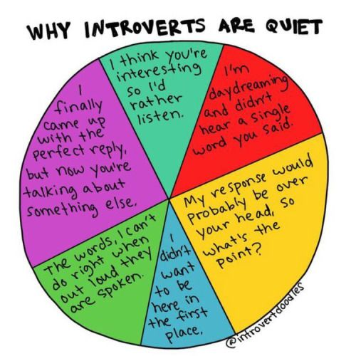 Ah, the joys of being an introvert. Whoever wishes to date one of us will have to be *very* patient.