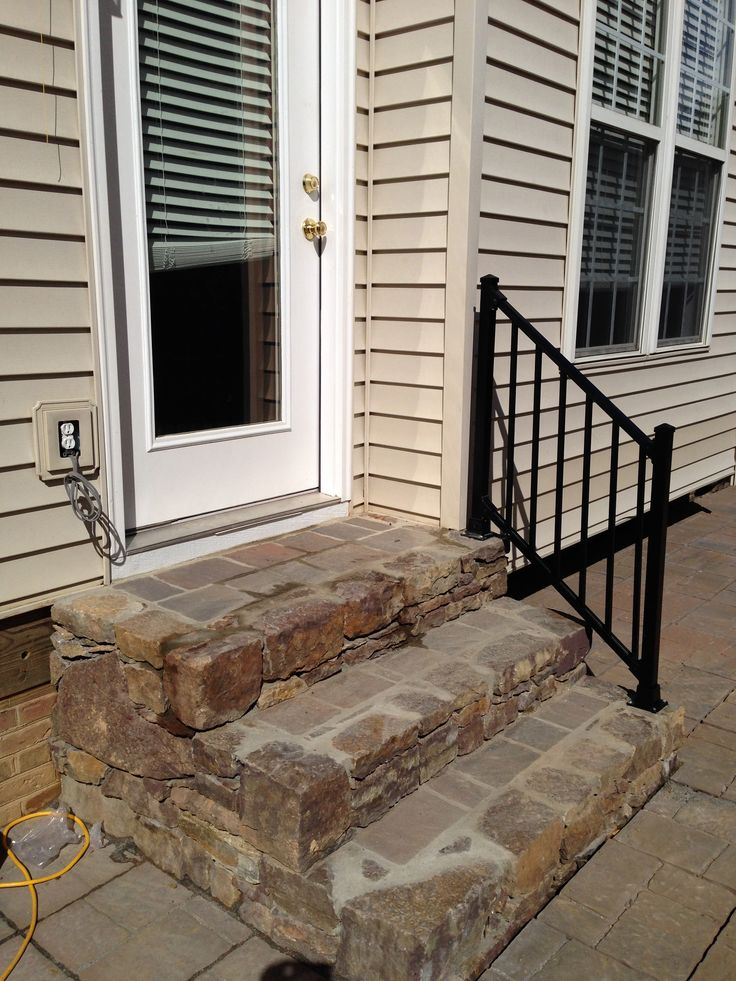 9 best Prefabricated outside steps images on Pinterest ... on Backyard Patio Steps id=17819