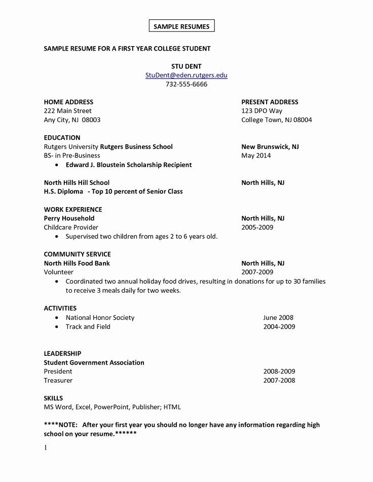 Cover Letter For First Job Beautiful First Job Resume Google Search Resume First Job Resume Student Resume Template Basic Resume
