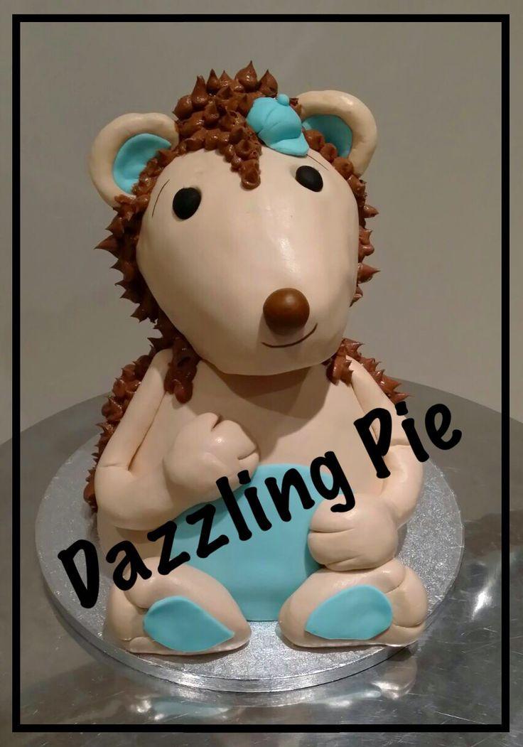 Egel taart / Hegdehog cake made by Dazzling Pie
