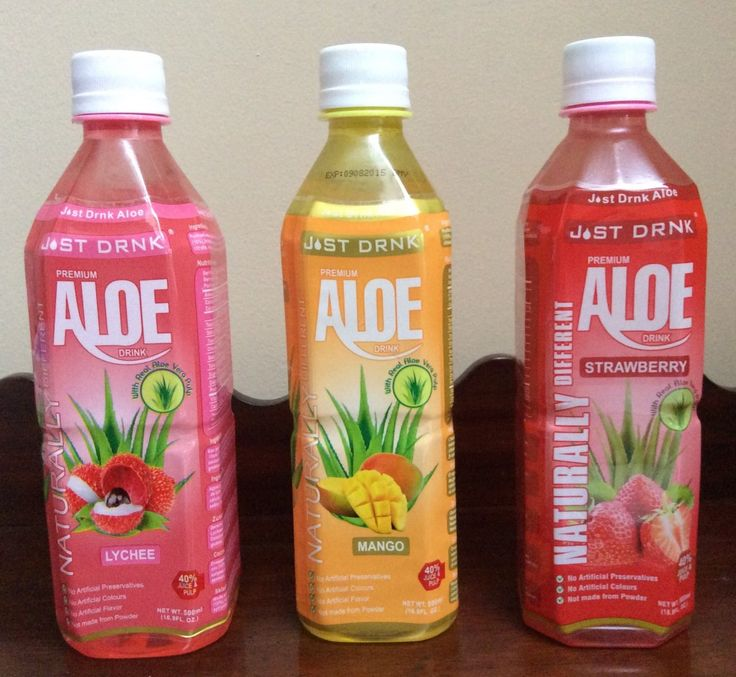 Just Drink Aloe - Juice Review