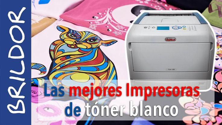Las MEJORES impresoras láser de TÓNER BLANCO: iColor de Uninet