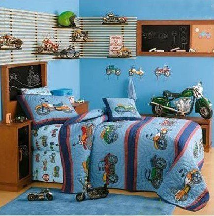 23 best Motorcycle Themed Boys Room/Nursery images on ...