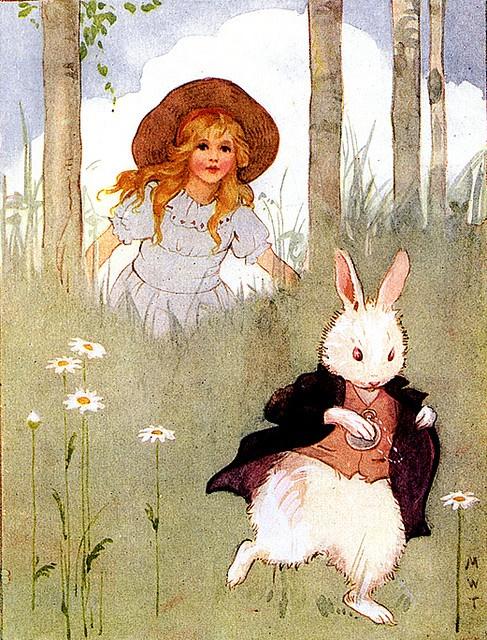 #Vintage #Alice in #Wonderland illustration