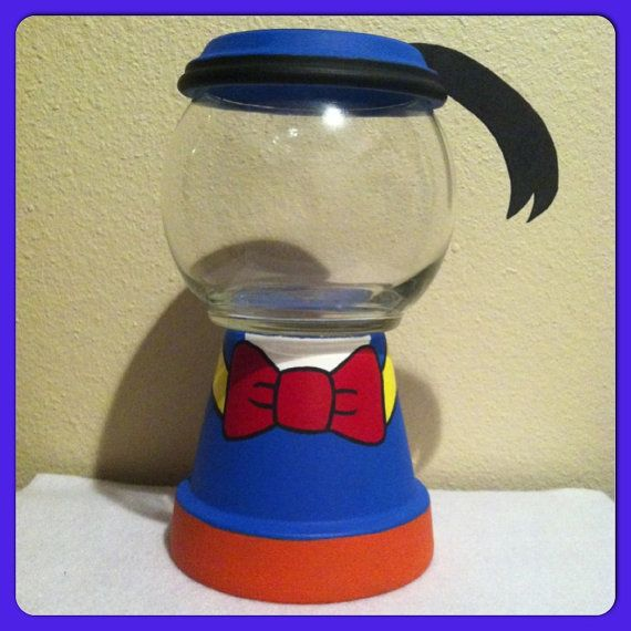 Etsy の Donald Inspired Candy Jar by GCraftyHands
