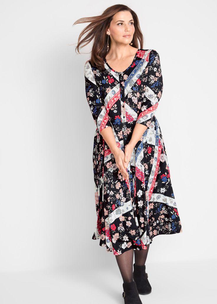 Kleid - designt von Maite Kelly schwarz gemustert jetzt im ...