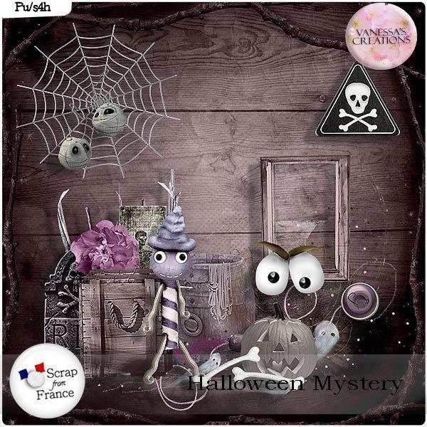 Halloween Mystery Minikit by Vanessa's Creations