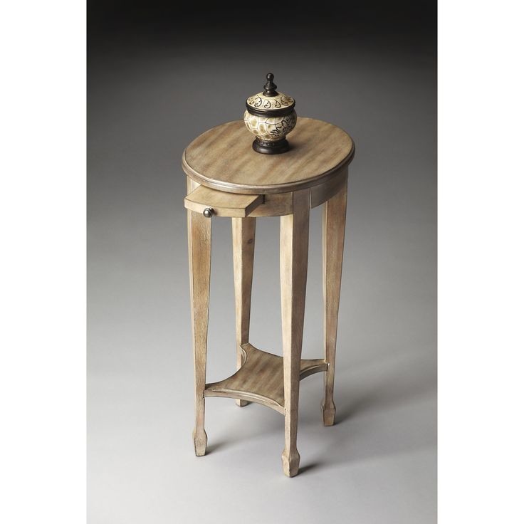 Butler Driftwood Pull Out Tray Accent Table   1483247   Butler Specialty