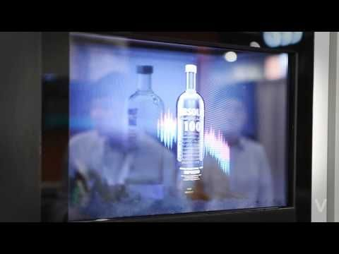 THE V presents TRANSLOOK® The World 1st Transparent Display Solution for Art Galleries and Museums - YouTube