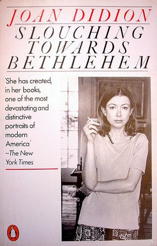 figurative language in joan didions essay The back cover of slouching towards bethlehem, joan didion's first collection  of essays and the book that established her as one of a.