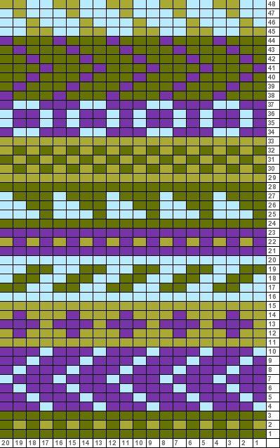 Tricksy Knitter Charts: sampler idea