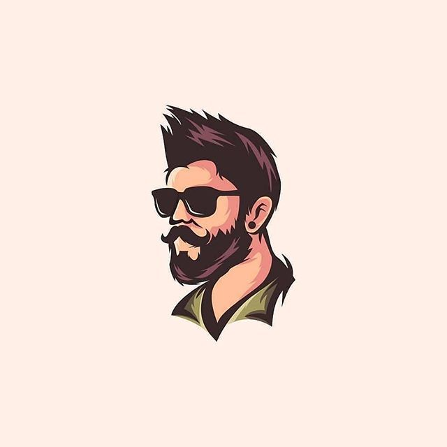Logodesign Logodesigns Place Instagram Photos And Videos With Images Beard Logo Design