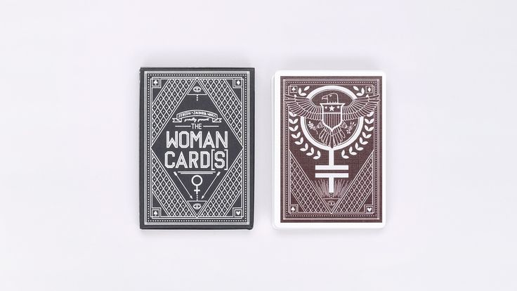 woman cards.