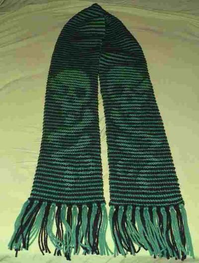 Dark Mark Illusion Scarf These are knit patterns.....thinking I may have to teach myself to knit over the summer!