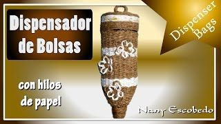DISPENSADOR PARA BOLSAS DE SUPERMERCADO - YouTube