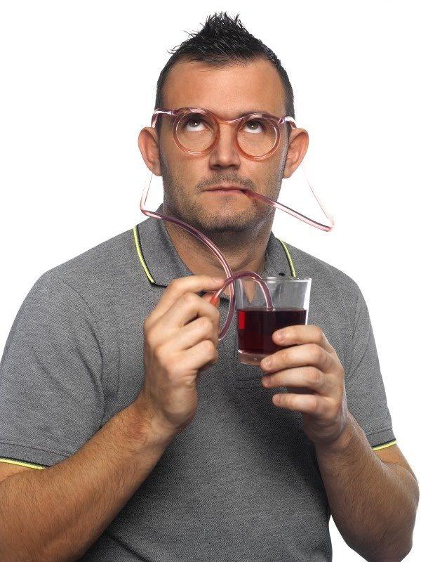 OKULARY SŁOMKI do picia