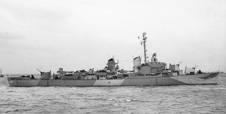 USS Alfred A. Cunningham (DD-752), an Allen M. Sumner-class destroyer. On 13 June, the destroyer joined Task Group (TG) 12.4 and sailed for the western Pacific. A week later, while en route, Cunningham screened carriers launching air strikes on Japanese-held Wake Island. The group arrived at Leyte on 26 June.