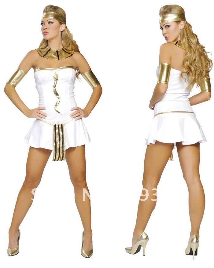 vestidos egipcios Egipto sexy traje de reina de