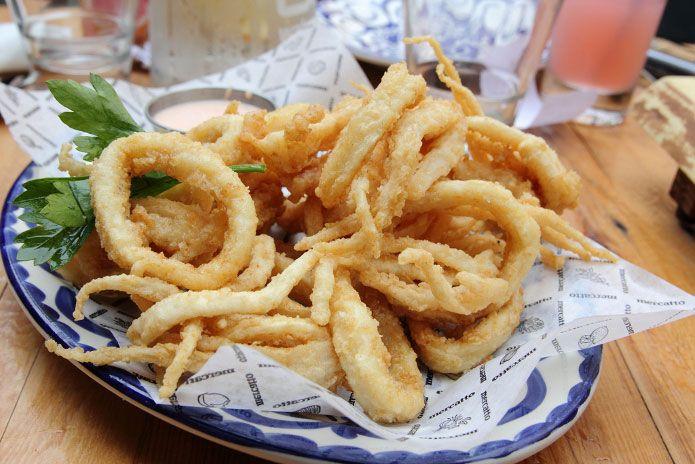 La recette des calamars frits à la romaine  #recette #facile