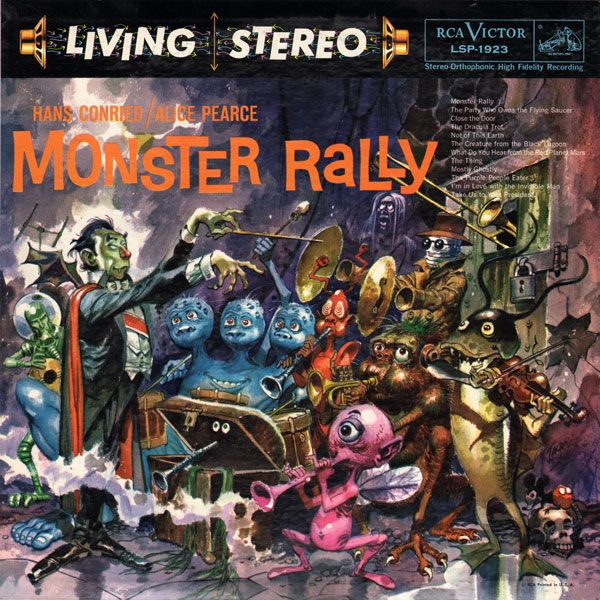oldiesbutghoulies:Monster Rally (RCA, 1959)