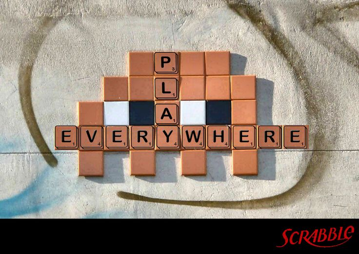 Scrabble Play Everywhere (Advertising IED Roma)