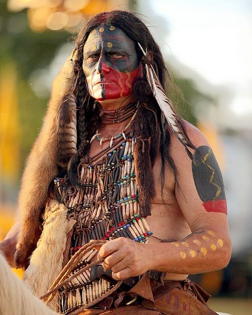 images of native americans war paint - Google Search
