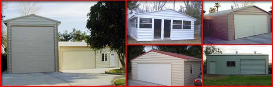 Metal garage kits availble in many styles and sizes by Absolute Steel