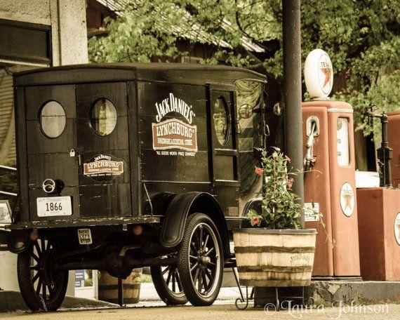 Antique Car & Gas Pumps 8 x 10 Fine Art by HandLPhotographyTN, $30.00
