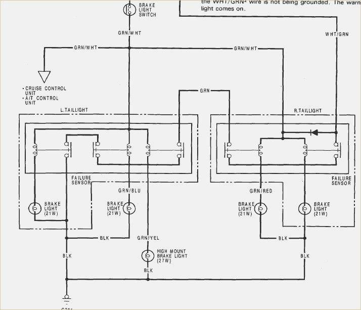 [DIAGRAM] 1990 Honda Accord Brake Light Wiring Diagram