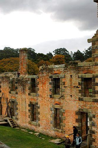 Penitentiary Ruins - Port Arthur, Tasmania, Australia
