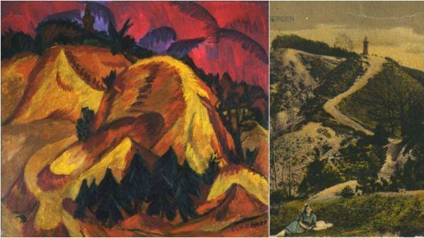 """Ernst Kirchner's """"Sand Hills (By Grunau)"""""""