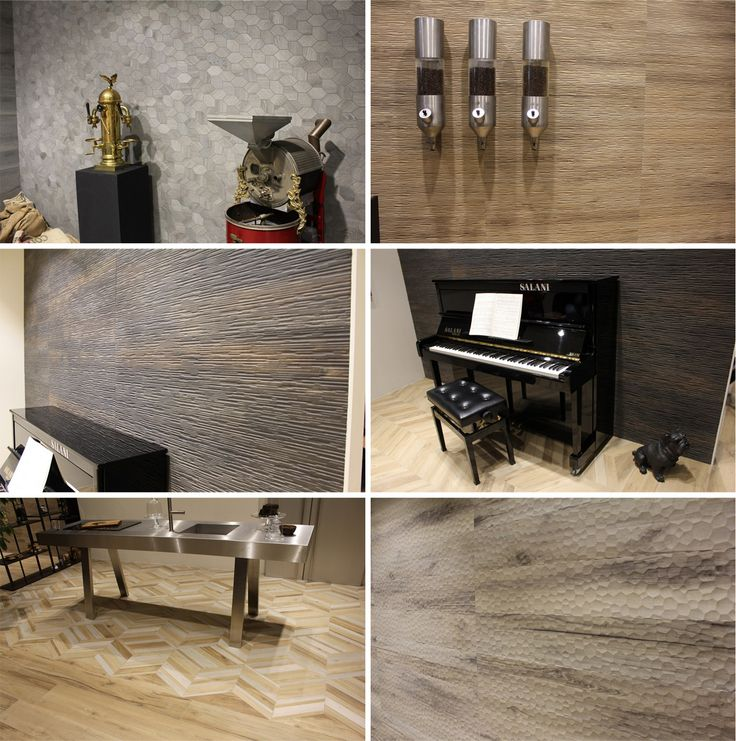 Provoak by Ceramiche Provenza is a collection of oak looking porcelain tiles in five colors and in the wide range of sizes, complemented by the relief decorative elements.