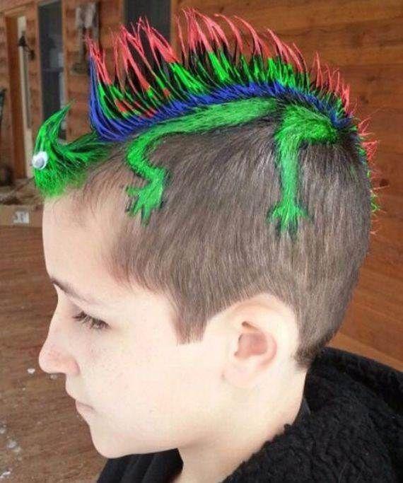 Beste Ideen für verrückte Frisuren für Mädchen und Jungen